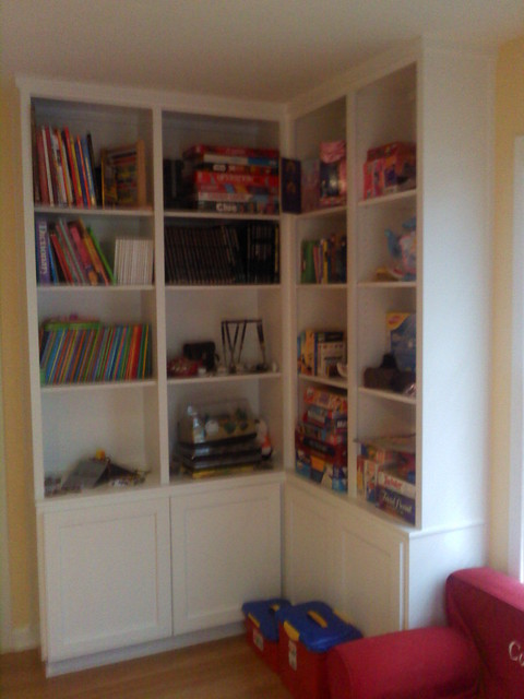 Built In Wall Units Bookcases