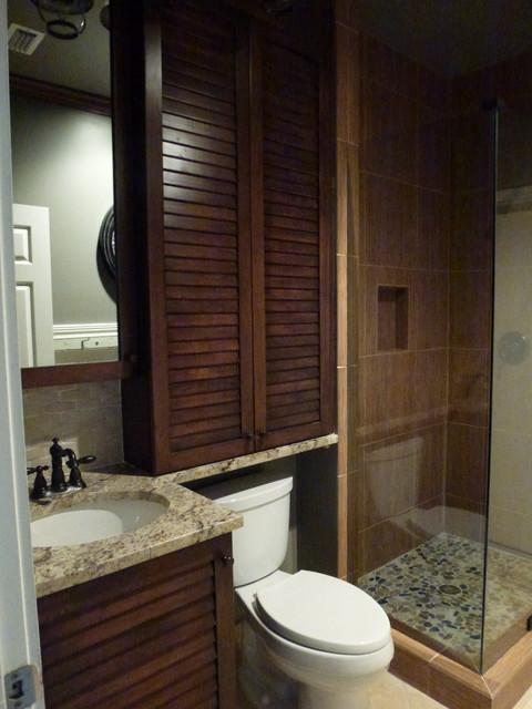 bathroom remodel tropical bathroom