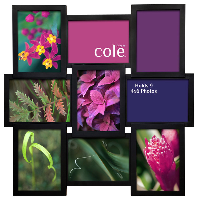9 photo molded collage frame 4 x6 modern picture for Modern collage frame