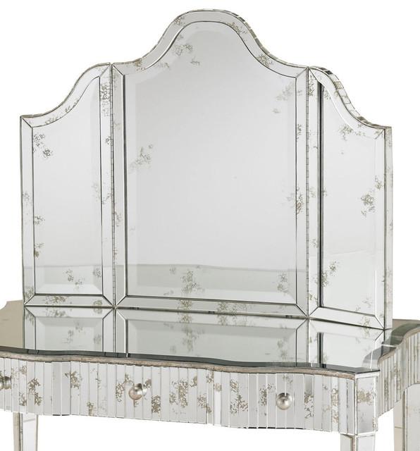 Original Millbridge Pivot Mirror Chrome  Transitional  Bathroom Mirrors  By