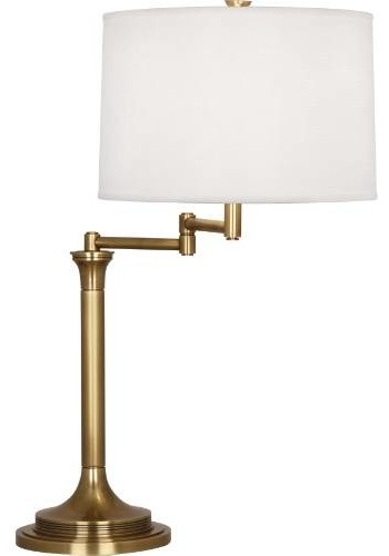 robert abbey 2821 sofia 28 3 8 h 1 light table lamp in brass 2821