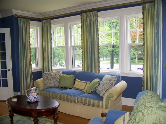 Custom drapes by maison decor - Dicor maison ...