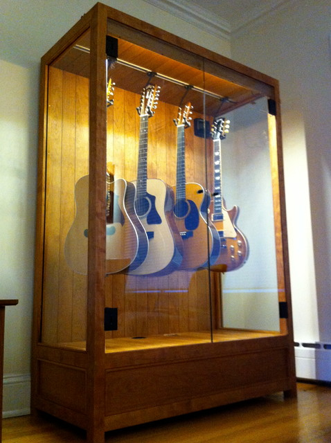 Humidified Guitar Cabinet - Contemporary - New York - by ...
