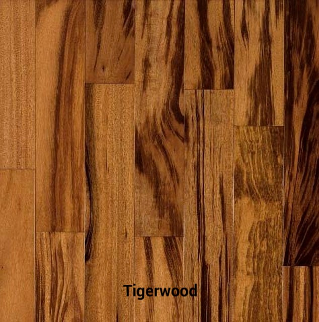 Koa Wood Kitchen Cabinets: Tigerwood Hardwood Flooring