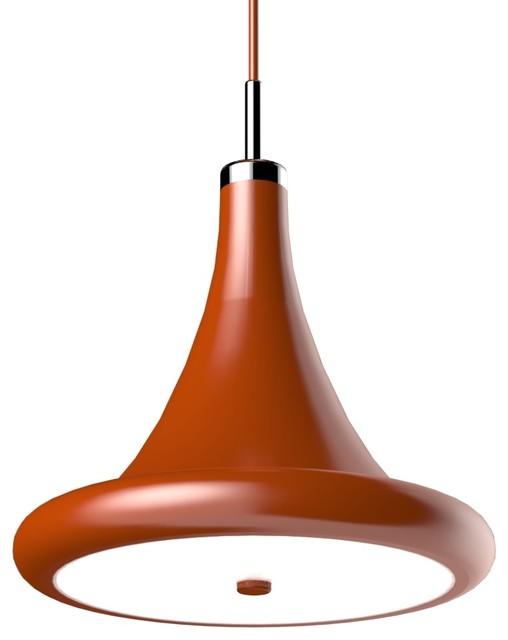Modern Red Pendant Lighting : Radiuscore black red modern pendant lighting by