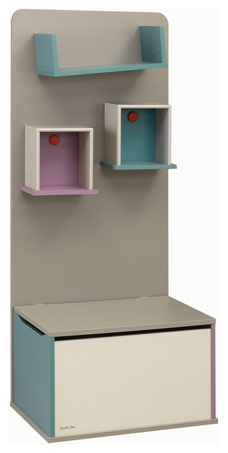 calisson biblioth que coffre jouets contemporain rangement pour jouets par alin a. Black Bedroom Furniture Sets. Home Design Ideas