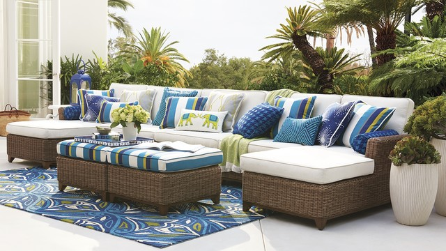 Outdoor 2016 Eclectic Patio by FRONTGATE