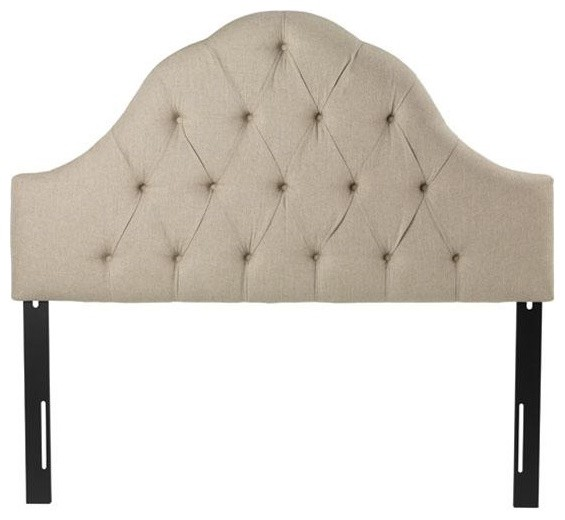 Tufted Arch Headboard Traditional Headboards By Home Decorators Collection