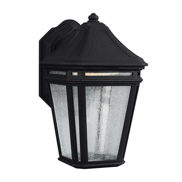 Outdoor Wall Sconces Black : Feiss Londontowne 1 Light Outdoor Sconce, Black - Traditional - Outdoor Wall Lights And Sconces ...