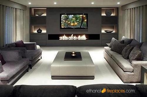 Ethanol Burner Insert Fireplaces