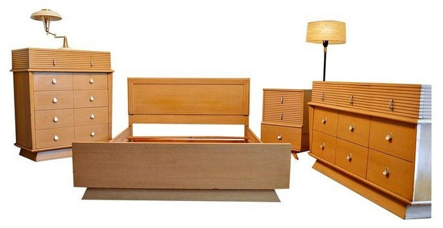 Atomic era american of martinsville bedroom set modern for American martinsville bedroom furniture