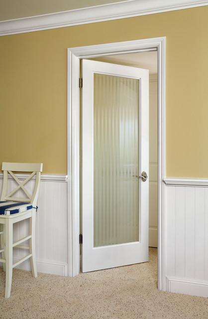 Reed Glass Door Contemporary Interior Doors Orange