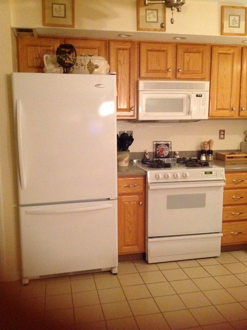 Selling the house Leave white appliances or change to