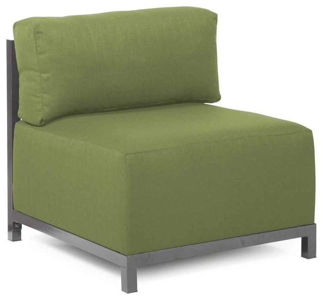 Chair In Moss Contemporary Outdoor Lounge Chairs By ShopLadder