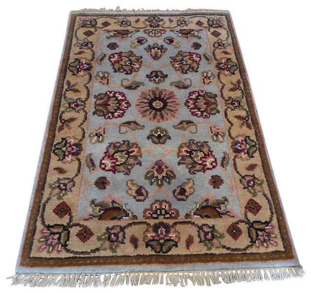 2x3 39 1 magnolia rug traditional area rugs by oriental for Garden room 2x3