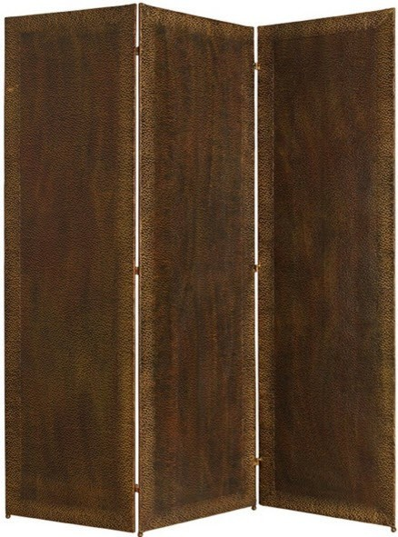 Forged panel screen rustic screens and room dividers