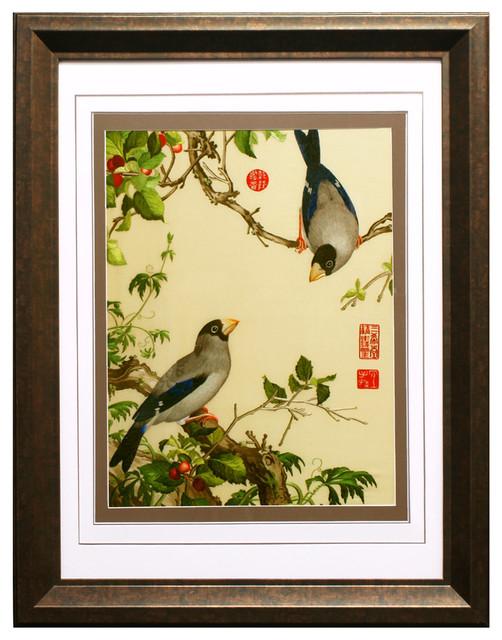 frames for paintings asian motif