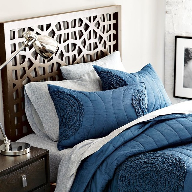 Small Apartment Bedroom West Elm Bedroom Ideas Bedroom Design Houzz Lighting Ideas For Bedroom: Morocco Headboard
