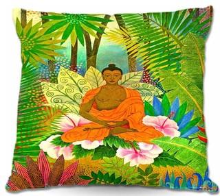 Dianoche outdoor pillows buddha in the jungle asiatisch - Aufbewahrung gartenpolster ...
