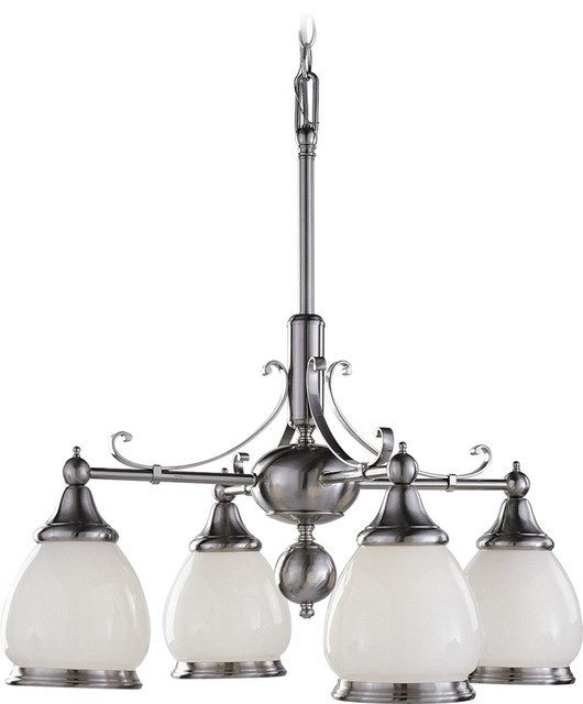 Hyde Park Four Light Interior Chandelier Traditional Chandeliers By Volume Lighting
