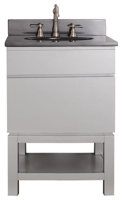 Avanity Tribeca 24 In Vanity Combo With Base Contemporary