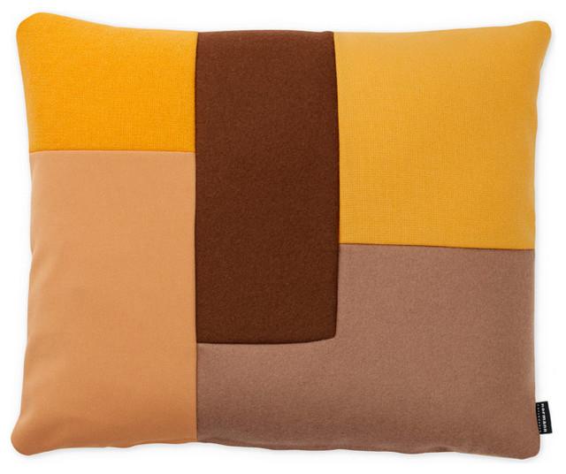 Brick Kissen Gelb Normann Copenhagen - Scandinavian - Decorative Pillows - by found4you