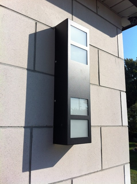 Exterior Wall Lights Architectural : Architectural Elements - Modern - Outdoor Wall Lights And Sconces - toronto - by Forza Metal ...