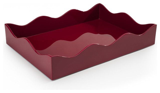 konig belles rives tray bordeaux large contemporary serving trays by the
