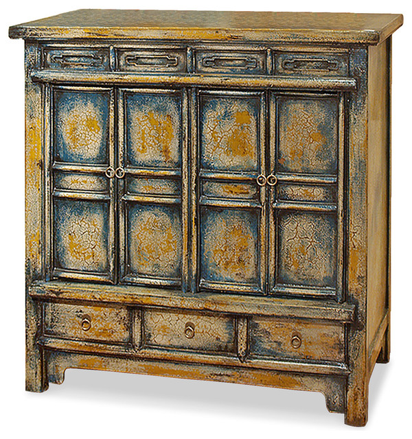 Elmwood Qing Cabinet - Asian - Accent Chests And Cabinets ...