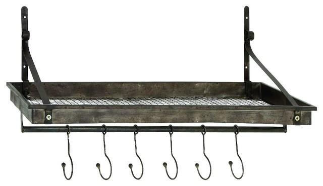 Craftsman  Hook Metal Wall Shelf Industrial Display And Wall Shelves