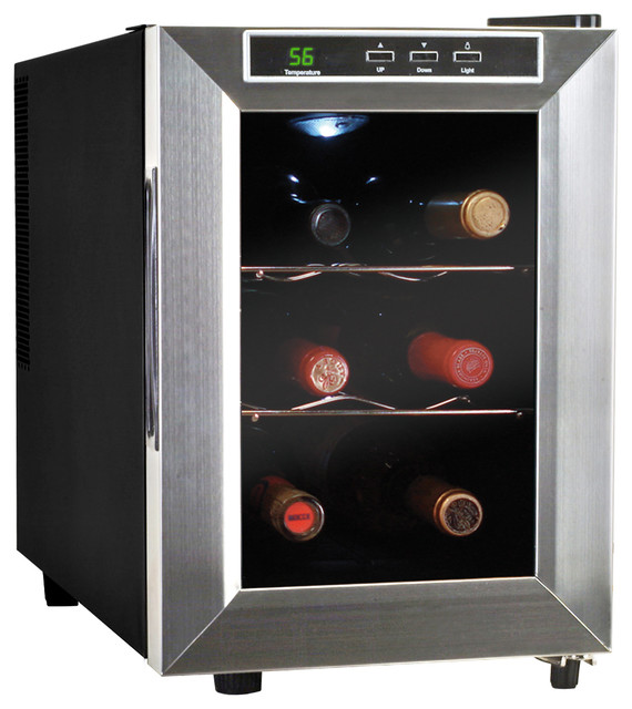Bottle Thermoelectric Wine Cooler modern-beer-and-wine-refrigerators