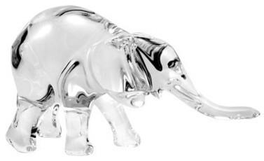 baccarat crystal tanganyika elephant   contemporary