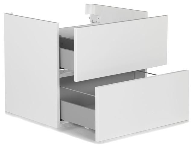 Luxy meuble de salle de bains sous vasque 60cm modern - Meuble sous vasque 75 cm ...