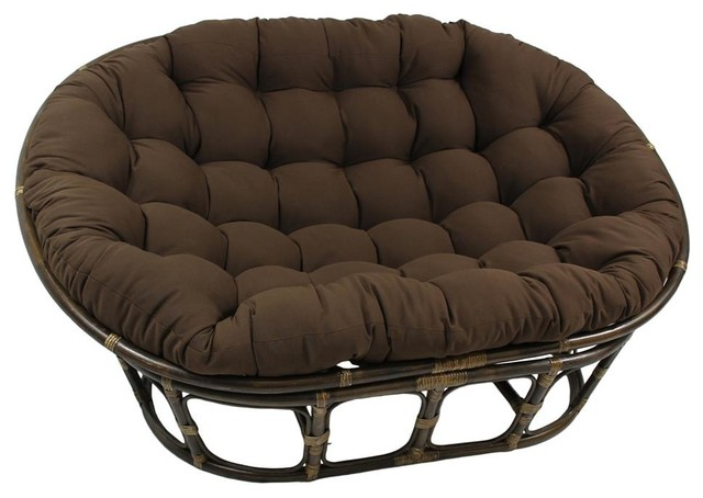 78 In Cushion For Oversize Double Papasan Spice Contemporary Seat Cush
