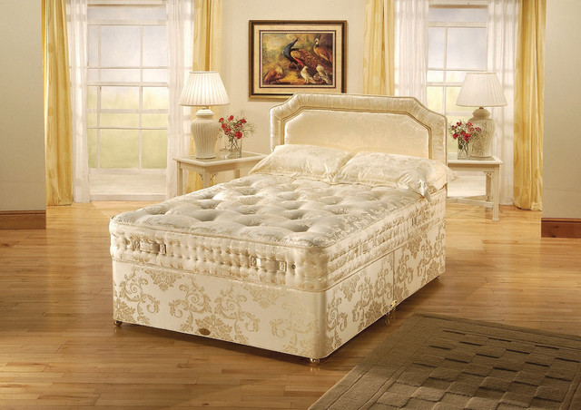 Contract beds plus headboard options by king of cotton for Beds plus