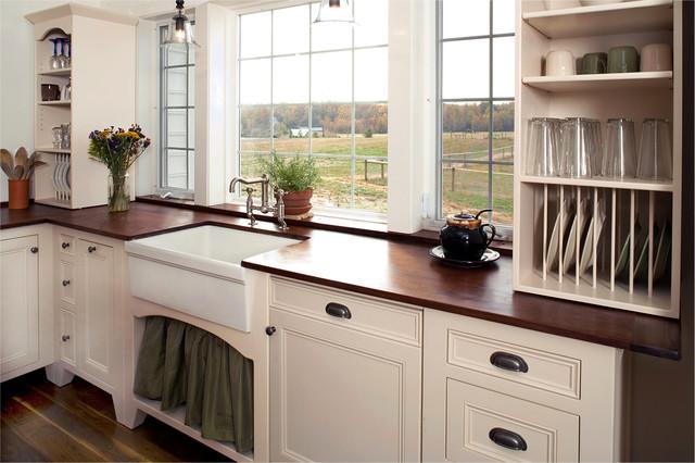 vintage unfitted kitchen design traditional kitchen
