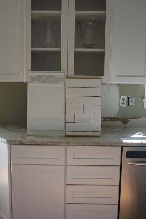 help me pick my subway tile kitchen backsplash please