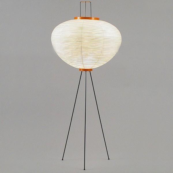 akari model 10a floor lamp by isamu noguchi modern. Black Bedroom Furniture Sets. Home Design Ideas