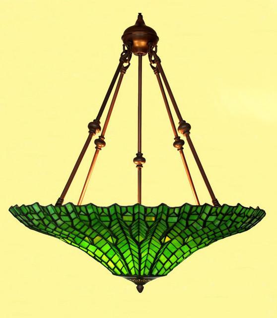 Modern Green Glass Pendant Lighting