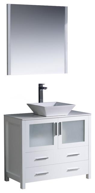 Modern bathroom vanity with vessel sink modern bathroom vanities and