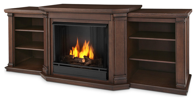 Valmont Entertainment Center Ventless Gel Fireplace