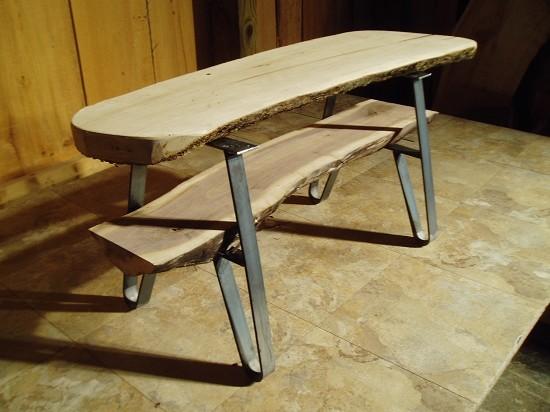 Steel Table Legs - Modern - Brackets - other metro - by ...