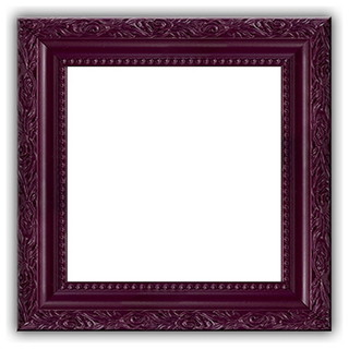 solid wood ornate purple photo picture frame. Black Bedroom Furniture Sets. Home Design Ideas