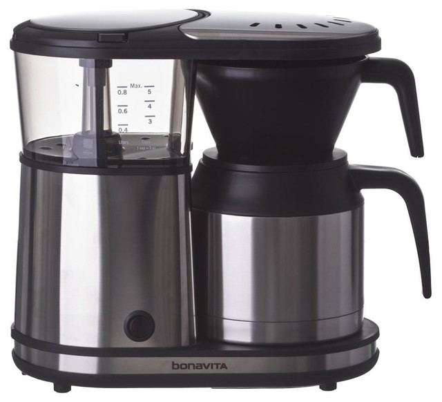 Bonavita Coffee Maker Replacement Thermal Carafe : Bonavita 5 Cup Coffee Brewer With Thermal Carafe - Contemporary - Coffee Makers - by Prima Coffee