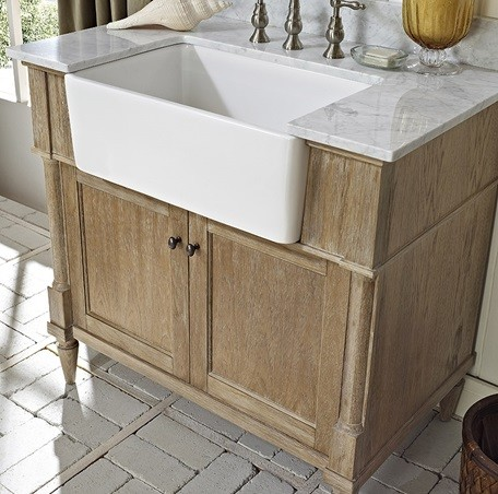 Bathroom Farm Sink : Bath Vanity 36