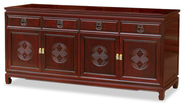 Rosewood Longevity Design Sideboard Asian Furniture By China