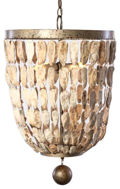 Lowcountry Originals Shell Bell Pendant Modern Pendant