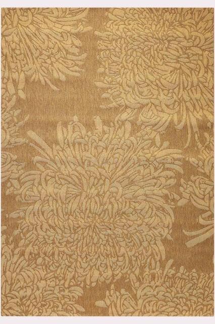 Martha Stewart Living Chrysanthemum All Weather Rug 5 39 3 X7 39 7 Q