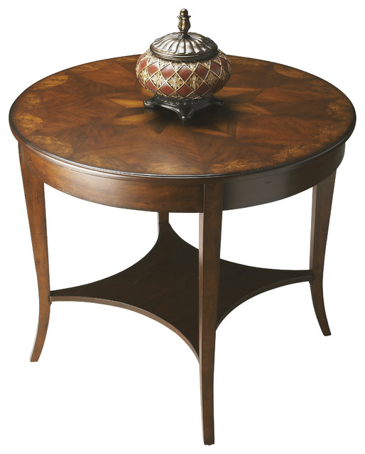 Foyer Side Table : Stewart castlewood foyer table traditional side tables