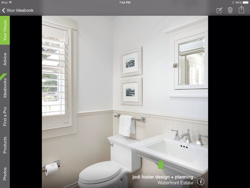 chair rail height bathroom 2